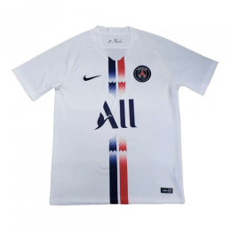 19-20 PSG White White Soccer Jerseys Shirt