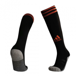 19-20 Ajax Away Black Soccer Jerseys Socks