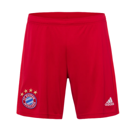 19-20 Bayern Munich Home Red Jerseys Short