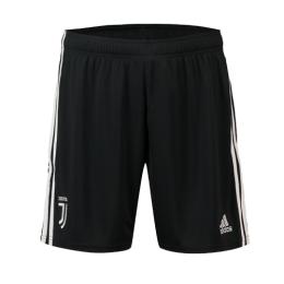 19-20 Juventus Home Black Soccer Jerseys Short