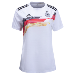 2019 Germany Home White Women's Jerseys Shirt