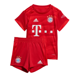 19-20 Bayern Munich Home Children's Jerseys Kit(Shirt+Short)