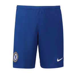 19-20 Chelsea Home Blue Soccer Jerseys Short