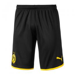 19-20 Borussia Dortmund Home Black Jerseys Short