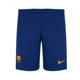19-20 Barcelona Home Navy Soccer Jerseys Short