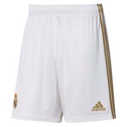 19-20 Real Madrid Home White Soccer Jersey Short