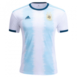 2019  Argentina Home Blue&White Soccer Jerseys Shirt