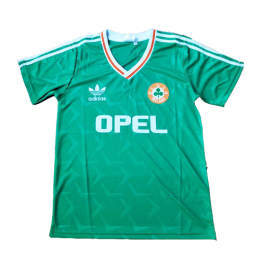 1990 Ireland Home Green Soccer Jersey Shirt