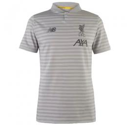 19-20 Liverpool Core Polo Shirt-Gray