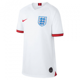 2019 World Cup England Home White Women's Jerseys Shirt(Player Version)