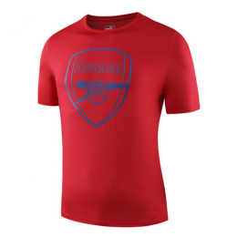 19-20 Arsenal Crest T Shirt-Red