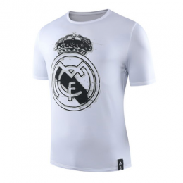 19-20 Real Madrid DNA Graphic T Shirt-White