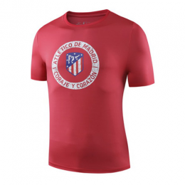 19-20 Atletico Madrid Printed T Shirt-Red