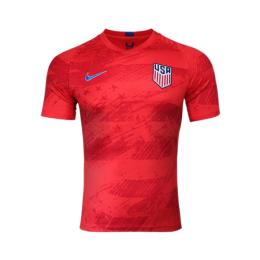2019 USA Away Red Soccer Jerseys Shirt