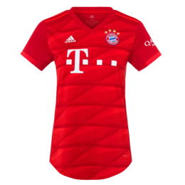 19-20 Bayern Munich Home Red Women's Jerseys Shirt