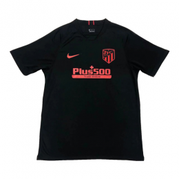 19-20 Atletico Madrid Away Black Soccer Jerseys Shirt