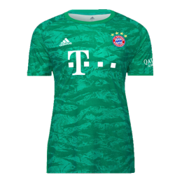 19-20 Bayern Munich Green Goalkeeper Jerseys Shirt
