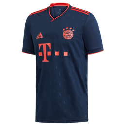 19/20 Bayern Munich Third Away Navy Jerseys Shirt