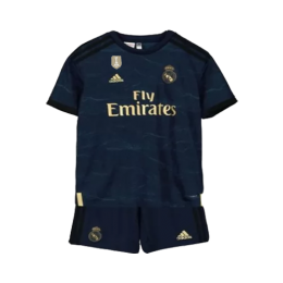 19-20 Real Madrid Away Navy Children's Jerseys Kit(Shirt+Short)