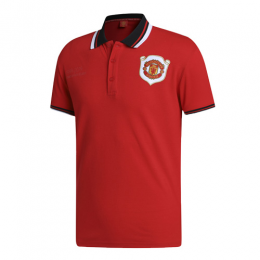 19/20 Manchester United Core Polo Shirt-Red