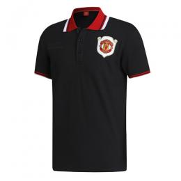 19/20 Manchester United Core Polo Shirt-Black