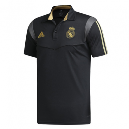 19/20 Real Madrid Core Polo Shirt-Black
