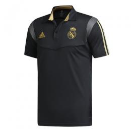 19/20 Real Madrid Core Polo Shirt-Black