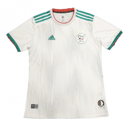 2019 Algeria Home White Two Stars Soccer Jerseys Shirt