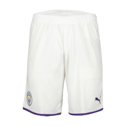 19/20 Manchester City Home White Jerseys Short