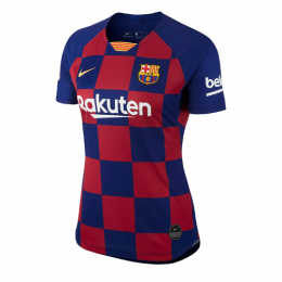 19-20 Barcelona Home Blue&Red Women's Jersey Shirt