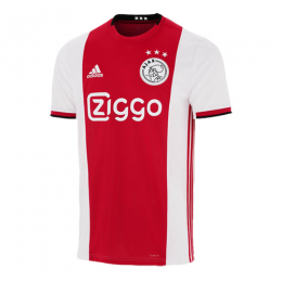 19-20 Ajax Home Red&White Soccer Jerseys Shirt