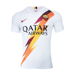 19-20 Roma Away White Soccer Jerseys Shirt
