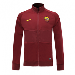 19-20 Roma Red High Neck Collar Training Jacket