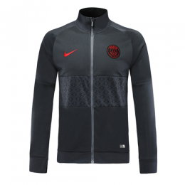 19-20 PSG Black&Gray High Neck Collar Training Jacket