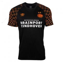 19-20 PSV Eindhoven Away Black&Orange Jerseys Shirt