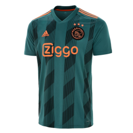 19-20 Ajax Away Green Soccer Jerseys Shirt(Player Version)
