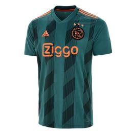 19-20 Ajax Away Green Soccer Jerseys Shirt(Player Version)