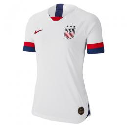 2019 World Cup USA Home White Women's Jerseys Shirt(Player Version)