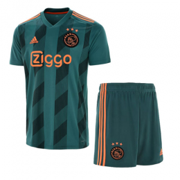 19-20 Ajax Away Green Soccer Jerseys Kit(Shirt+Short)