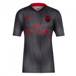 19-20 Benfica Away Dark Gray Soccer Jerseys Shirt