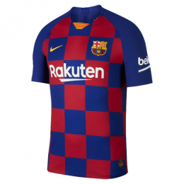 19-20 Barcelona Home Blue&Red Soccer Jerseys Shirt(Player Version)