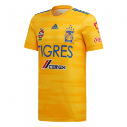 2019 Tigres UANL Home Yellow Soccer Jerseys Shirt