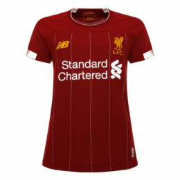 19-20 Liverpool Home Red Women's Jerseys Shirt