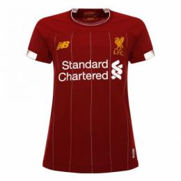 19-20 Liverpool Home Red Women's Jerseys Shirt