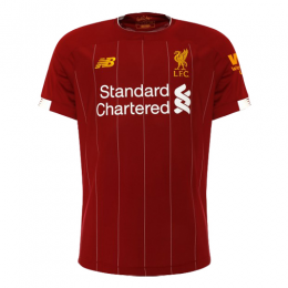 19-20 Liverpool Home Red Soccer Jerseys Shirt(Player Version)