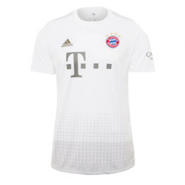 19/20 Bayern Munich Away White Jerseys Shirt