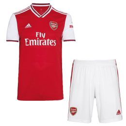 19-20 Arsenal Home Red Soccer Jerseys Kit(Shirt+Short)