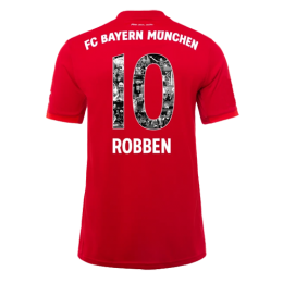 19-20 Bayern Munich Home Red Special ROBBEN  #10 Jerseys Shirt