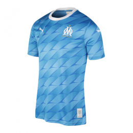 19/20 Marseille Away Blue Jerseys Shirt