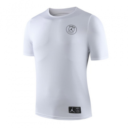 19-20 PSG JORDAN Printed T Shirt-White